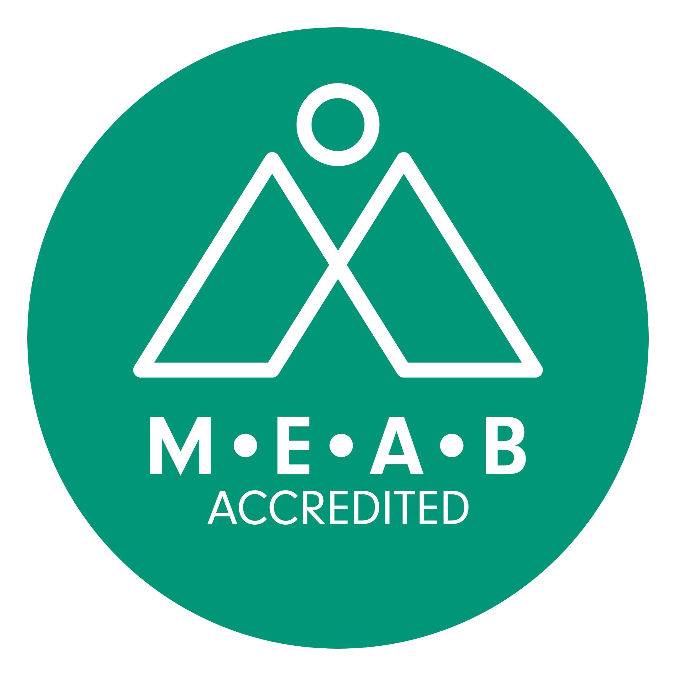 Footprints MEAB Accredited to 2021